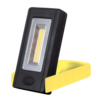 WORK LIGHT WITH ROTARY BASE 3W COB YELLOW
