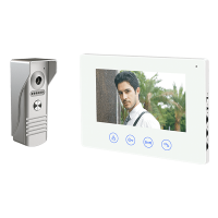 WIFI SMART VIDEO DOOR PHONE WITH THREЕ MONITORS