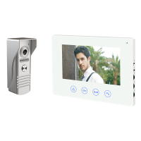 INTERFON VIDEO WIFI SMART CU CINCI MONITOARE