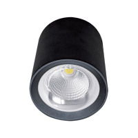 FLCOM LED DOWNLIGHT OM 10W 230V 4000K 60° BLACK