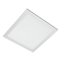 LED PANEL 24W 4000K-4300K 295X295mm CADRU ALB IP44