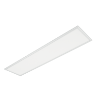 LED PANEL 36W 4000K-4300K 595X295mm CADRU ALB IP44