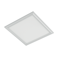 LED PANEL 48W 6400K 595x595mm IP44 WHITE FRAME