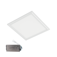 LED PANEL 48W 4000K 595x595mm IP44 WHITE FRAME +EMERGENCY KIT