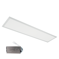 LED PANEL 48W 4000K 295x1195mm WHITE FRAME +EMERGENCY KIT