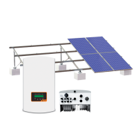 ON GRID SOLAR SYSTEM SET 30КW FLAT ROOF POLY
