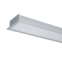 HIGH POWER LED PROFILE RECESSED S48 40W 4000K GREY