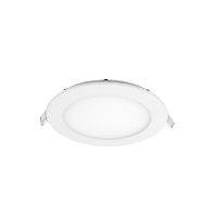 LED PANEL ROTUND SERIE ECO 12W ALB RECE D145mm