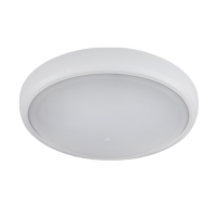 CORP ILUMINAT LED OVAL DE PERETE, BRLED 6W ALB IP54