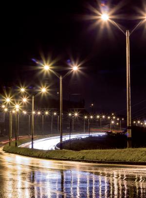 Iluminatul stradal LED
