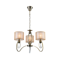 CANDELABRU MERY  3XE27 AURIU ANTIC D600X480mm